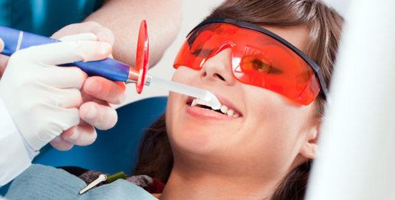 гигиеническая чистка зубов у стоматолога